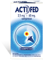 Immagine di ACTIFED 12CPR 2,5MG+60MG