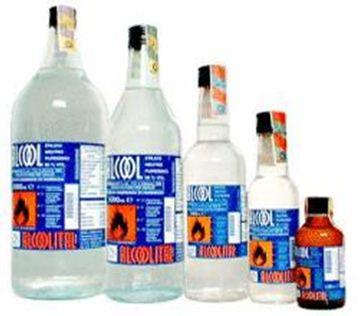 Immagine di ALCOOL ETILICO PURO 96% 1L