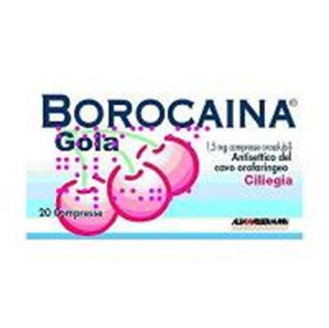 Immagine di BOROCAINA GOLA20PAST1,5MGCIL