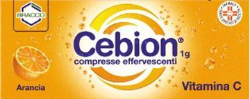Immagine di CEBION 10CPR EFF 1G ARANCIA