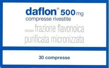 Immagine di DAFLON 30CPR RIV 500MG