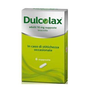 Immagine di DULCOLAX AD 6SUPP 10MG