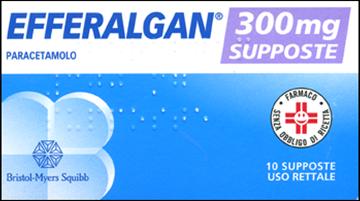 Immagine di EFFERALGAN 10SUPP 300MG