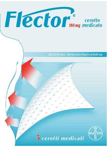 Immagine di FLECTOR 5CER MEDIC 180MG