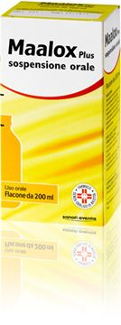 Immagine di MAALOX PLUS OS SOSP FL 200ML