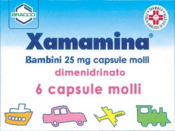 Immagine di XAMAMINA BB 6CPS 25MG