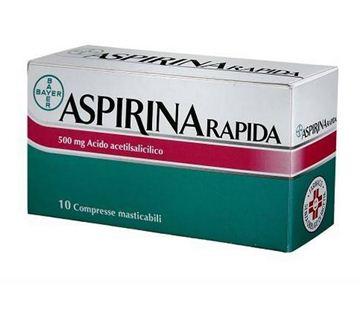 Immagine di ASPIRINA RAPIDA10CPRMAST500M