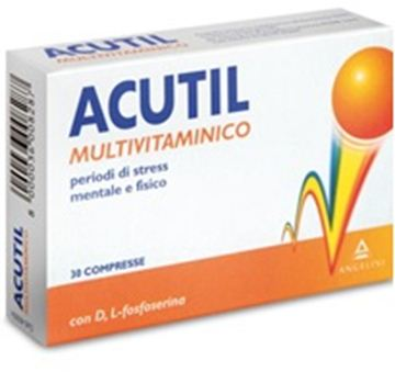Immagine di ACUTIL MULTIVITAMINICO 30CPR