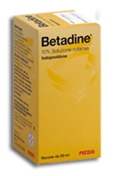 Immagine di BETADINE SOLUZ CUT FL50ML10%