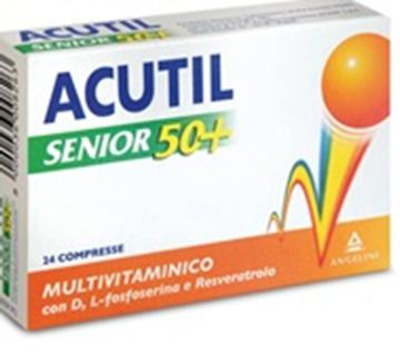 Immagine di ACUTIL MULTIVITSENIOR50+24CP
