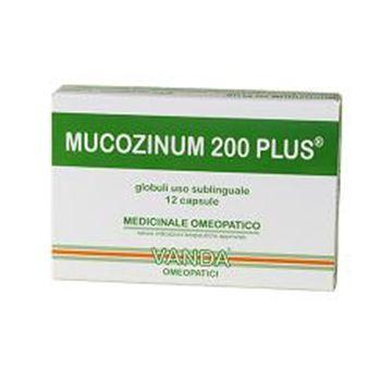 Immagine di MUCOZINUM 200 PLUS12CPSVANDA
