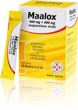 Immagine di MAALOX OS 20BUST 460MG+400MG
