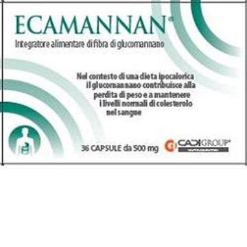 Immagine di ECAMANNAN 36CPS 500MG