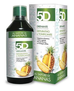 Immagine di 5D SLEEVERATO ANANAS 500ML
