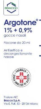 Immagine di ARGOTONE GTT RINO20ML1%+0,9%