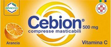 Immagine di CEBION 500 20CPR MASTARANCIA