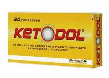 Immagine di KETODOL 20CPR 25MG+200MG