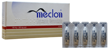Immagine di MECLON 10 OVULI VAG100+500MG