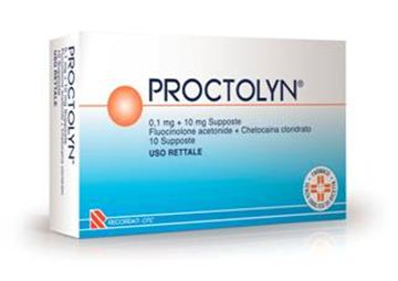 Immagine di PROCTOLYN 10SUPP 0,1MG+10MG