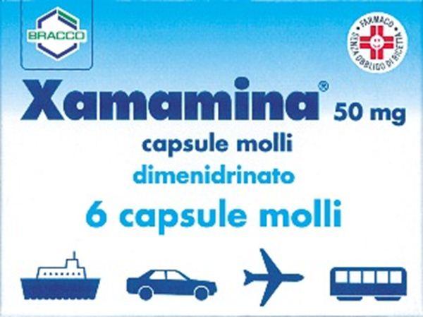 Immagine di XAMAMINA 6CPS 50MG