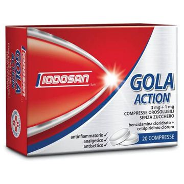 Immagine di GOLA ACTION 20CPROROS3MG+1MG
