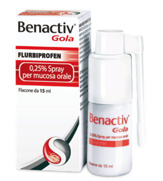 Immagine di BENACTIV GOLA SPRAY15ML0,25%