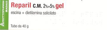 Immagine di REPARIL GEL CM 40G 2%+5%