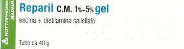 Immagine di REPARIL GEL CM 40G 1%+5%