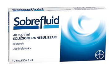 Immagine di SOBREFLUID NEBUL 10F 40MG3ML