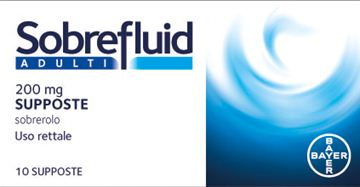 Immagine di SOBREFLUID AD 10SUPP 200MG