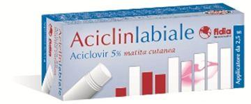 Immagine di ACICLINLABIALE MATITA 2,5G5%