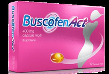Immagine di BUSCOFENACT 12CPS 400MG