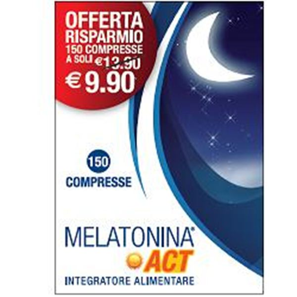 Immagine di MELATONINA ACT 1MG 150CPR