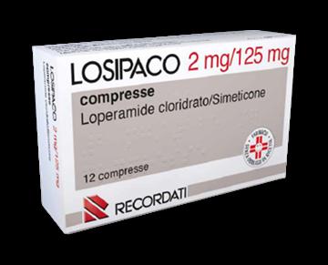Immagine di LOSIPACO 12CPR 2MG+125MG