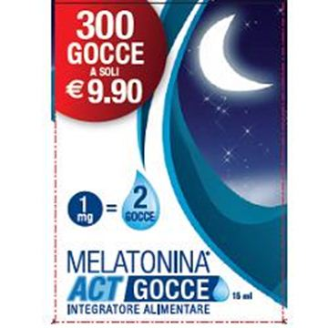 Immagine di MELATONINA ACT GOCCE 15ML