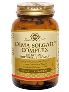 Immagine di DIMA SOLGAR COMPLEX 60CPSVEG