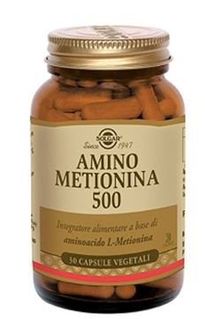 Immagine di AMINO METIONINA 500 30CPSVEG