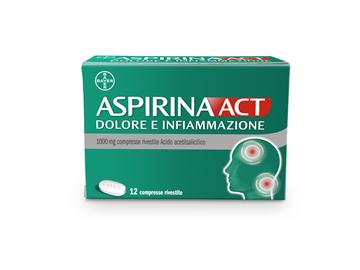 Immagine di ASPIRINAACT DOL INF 12CPR 1G