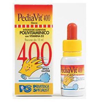 Immagine di PEDIAVIT 400 GOCCE 15ML